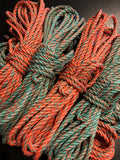 Multi-Color Hemp Bondage Rope