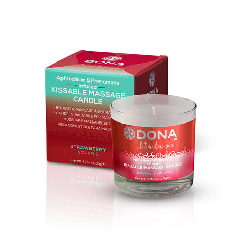 Dona Kissable Massage Candle