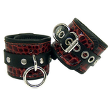 Exotic Leather Wrist Cuffs