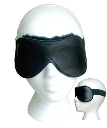 Fur-lined Elastic Blindfold
