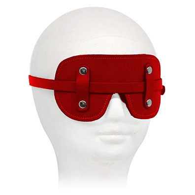 Fur-Lined Buckle Blindfold