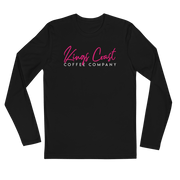 Cafe Miami Long Sleeve Fitted Crew