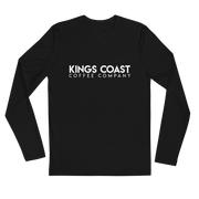 KC Block Logo Long Sleeve Fitted Crew