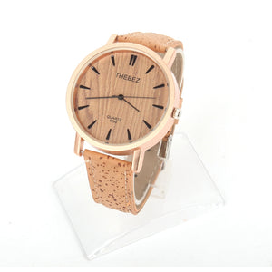 Natural Cork Unisex Watch