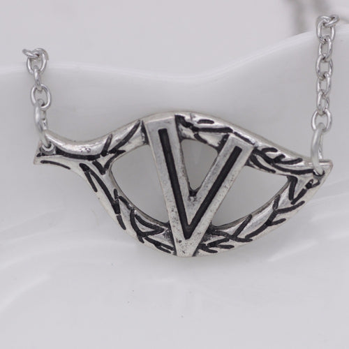 V Leaf Necklace