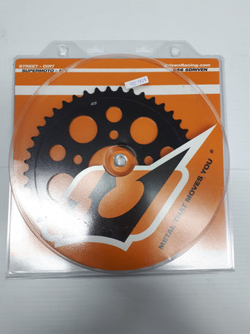 Driven BMW HP4 Forged wheel rear sprocket black 45T BK