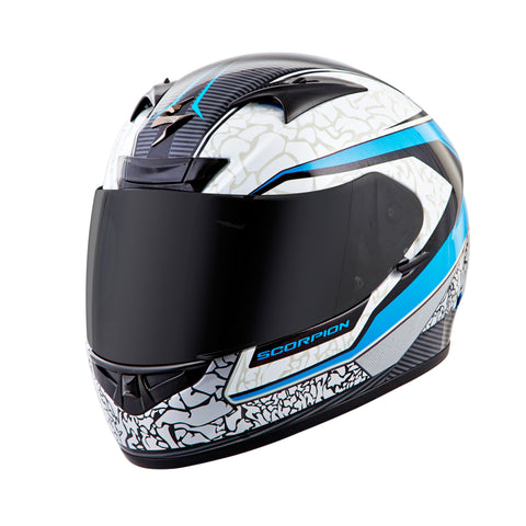 Helmet Scorpion EXO-R710 Flight Bleu