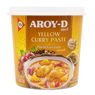 Yellow Curry Paste Aroy D