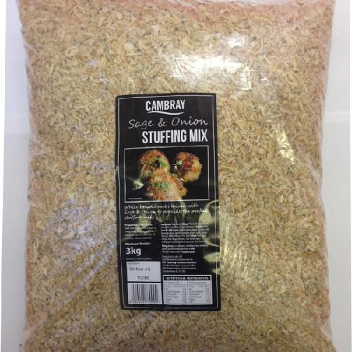Cambray Sage and Onion Stuffing Mix (3kg) Europ Food Canarias