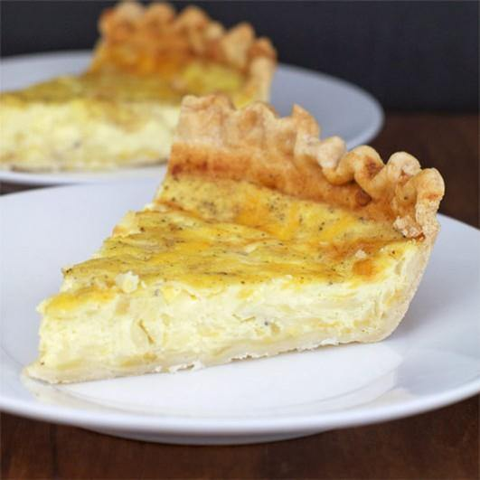 Cheese and Onion Quiche Europ Food Canarias