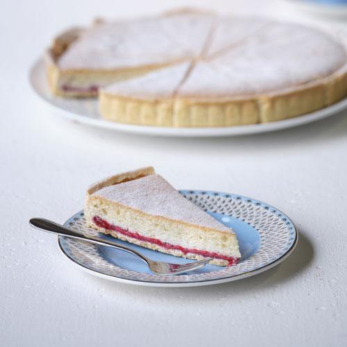 Cherry Bakewell Tart (12 portions) Europ Food Canarias