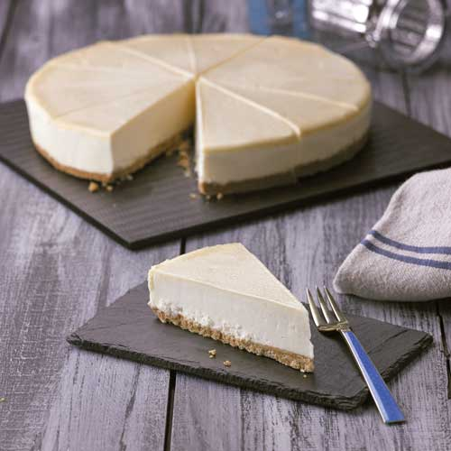 Deep and Creamy Vanilla Cheesecake (12 portions) Europ Food Canarias