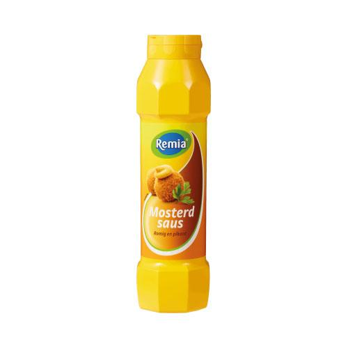 French mustard  800 gr  Remia eurodrop.es