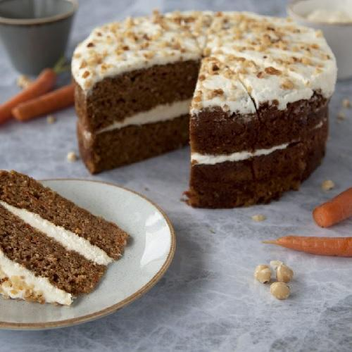 GLUTEN FREE Carrot Cake (14 portions) Europ Food Canarias