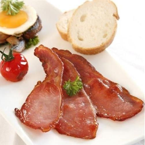 Grade 'A' back bacon 2.25kg Europ Food Canarias