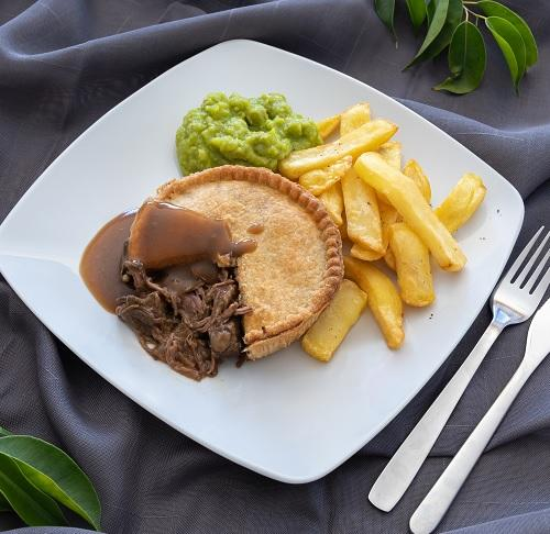 Jumbo Steak Pie x 8 Europ Food Canarias
