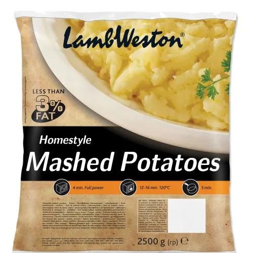 LAMB WESTON Frozen Home style Mashed Potato 2.5kg Europ Food Canarias
