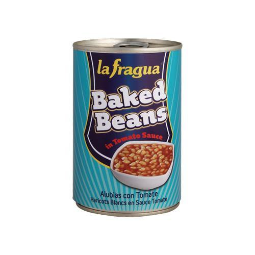 La Fragua Baked Beans (6 x 500g) Europ Food Canarias