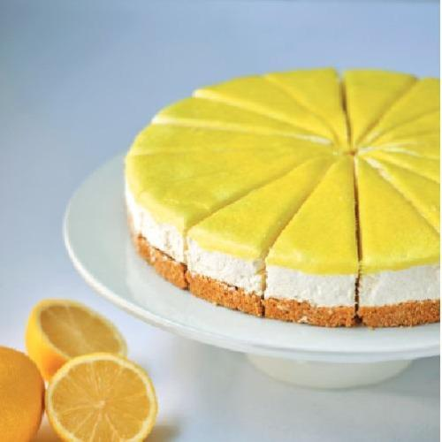 Lemon Cheesecake (16 portions) Europ Food Canarias