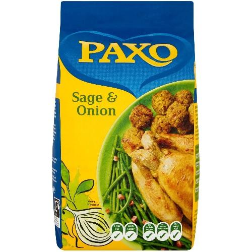 PAXO SAGE AND ONION STUFFING MIX 2.5K Europ Food Canarias