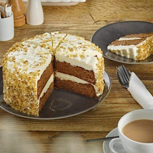 Passion Carrot Cake (16 portions) Europ Food Canarias
