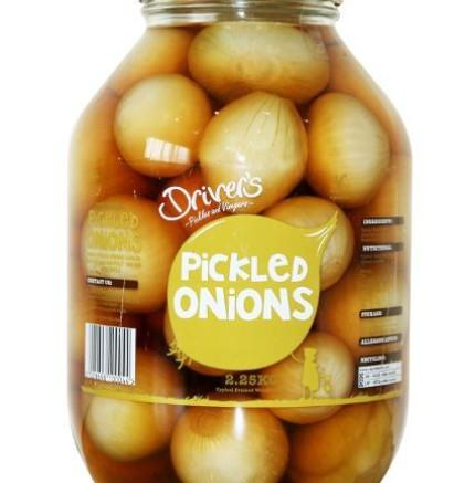 Pickled Onions (2.25kg)  Drivers Europ Food Canarias