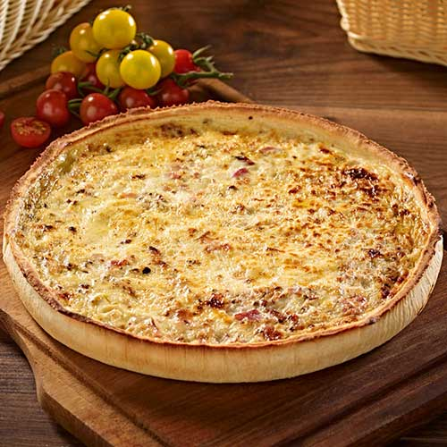Quiche Lorraine Ham, Onion and Cheese Europ Food Canarias