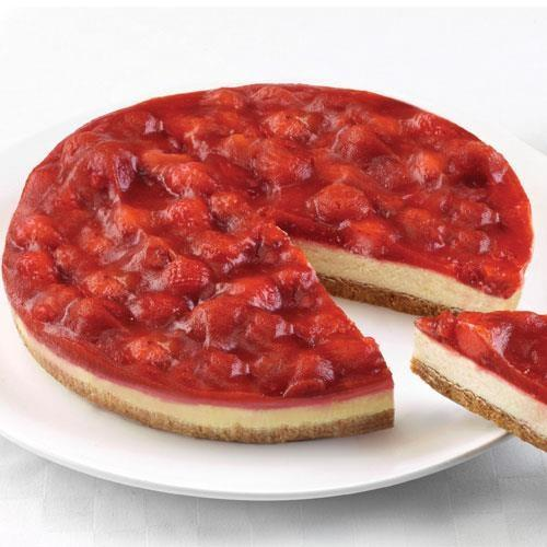 Strawberry Cheesecake (uncut 14 portions) Europ Food Canarias