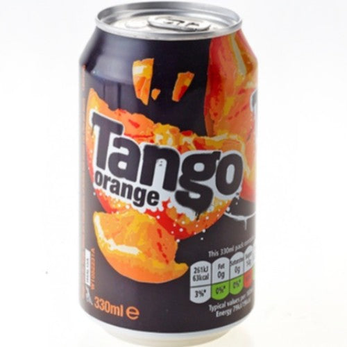 TANGO Orange 330ml x 24 Europ Food Canarias
