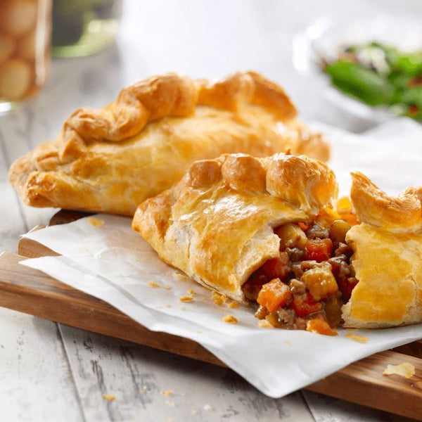 WRIGHTS  Beef and Vegetable Pasties Europ Food Canarias