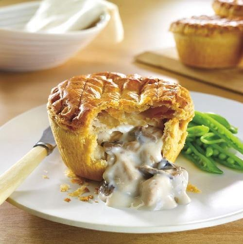 WRIGHTS Baked Premium Chicken & Mushroom Pies Europ Food Canarias