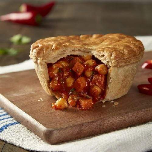 WRIGHTS Moroccan Style Tomato & Chickpea Pie x 12 Europ Food Canarias