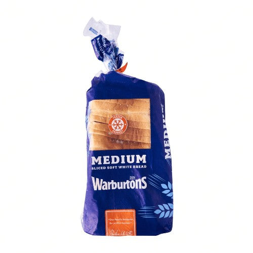 Warburtons Medium White Sliced Bread Europ Food Canarias
