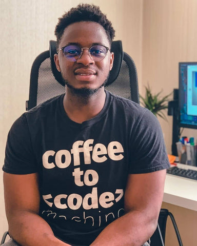 Coffee to Code Machine Shirt