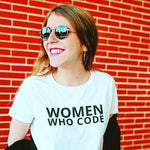 Women who code awesome shirt