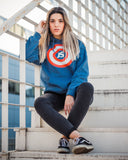 Captain JS - hooded sweatshirt
