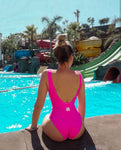 Autonomous Pink - One-Piece Swimsuit