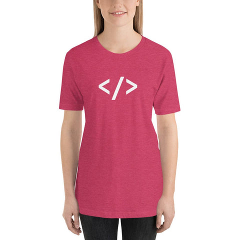 Autonomous Pink - short sleeve t-shirt for women developers