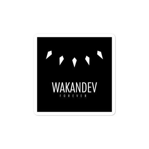 Wakandev High-quality Vinyl Bubble-free stickers