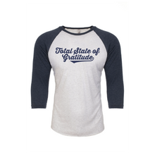 'TOTAL STATE OF GRATITUDE' BASEBALL TEE