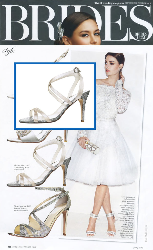 Butter Shoes featured in Brides Magazine