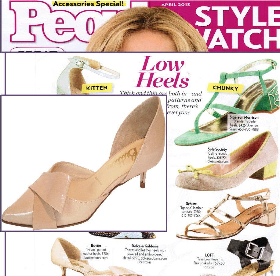 Butter Shoes featured in People Style watch