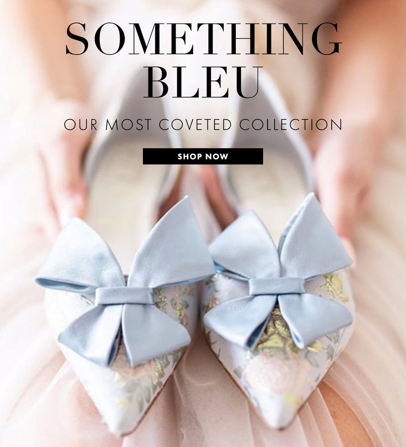 Shop Something Bleu Bridal Footwear