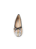 Womens METAL TWEED Pavlova Ballet Flat 4