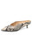 Womens Natural Eco Snake Siren Pointed Toe Mule Alternate View