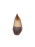 Womens Asphalt Nappa Novella Block Heeled Pump 4