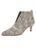 Womens Beige Spotted Pony Brandi Pointed Toe Bootie Alternate View