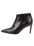Womens Black Leather Gal Bootie 7