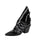 Womens Black Patent Leather Jaegar Bootie Alternate View