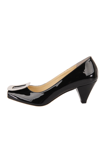 Womens Black Patent Dalton 7